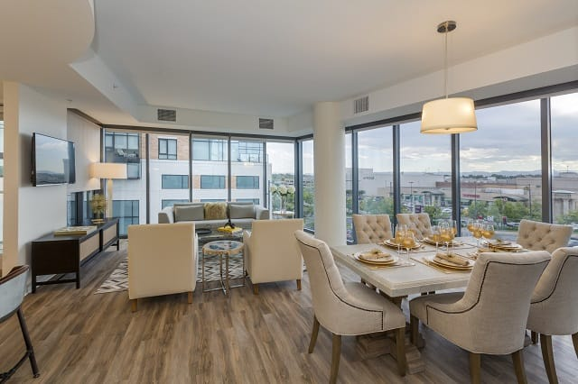 Two Bedroom Dining/Living(Citreous)